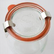 德國Weck玻璃罐專用橡膠密封圈組