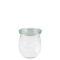 德國Weck762玻璃罐附蓋 Tulip Jar