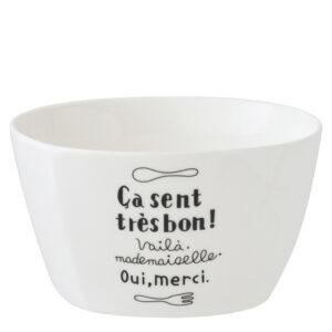 微光生活4.5吋陶瓷方型飯碗