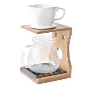 竹製手沖咖啡壺架組