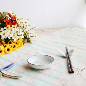 日式春禾陶瓷3.75吋調味碟