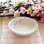 日式櫻花陶瓷6.5吋湯盤