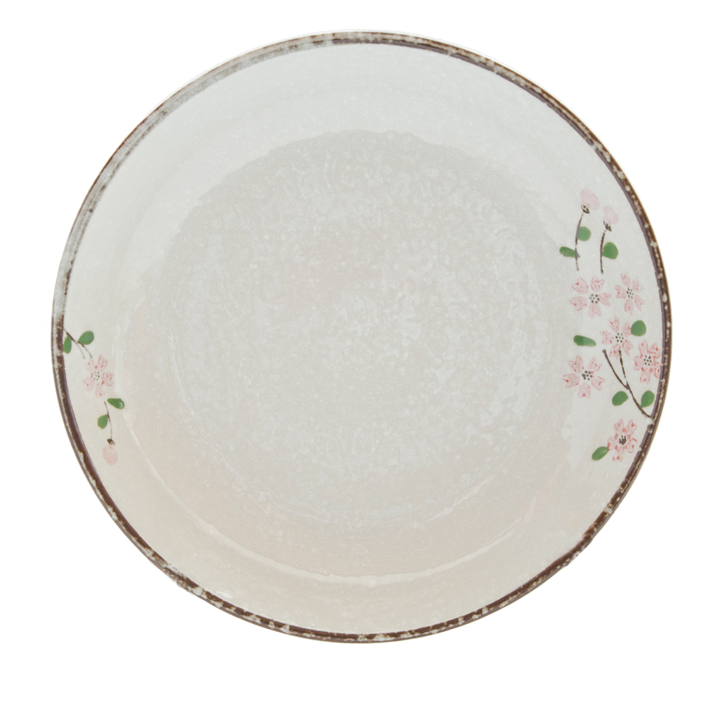日式春禾陶瓷8吋湯盤