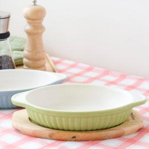 烤皿+木托盤