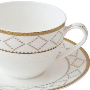 舒伯特骨瓷咖啡杯盤組