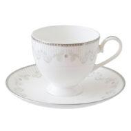 雅緻骨瓷咖啡杯盤組