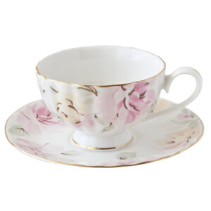 臻愛骨瓷咖啡杯盤組