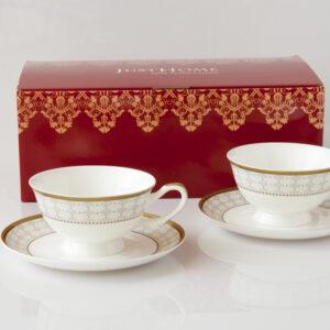 安帝斯骨瓷咖啡杯盤組
