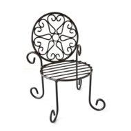 Justhome雕花椅造型花架