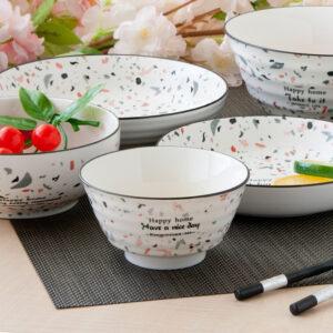 夏諾爾陶瓷4.5吋飯碗
